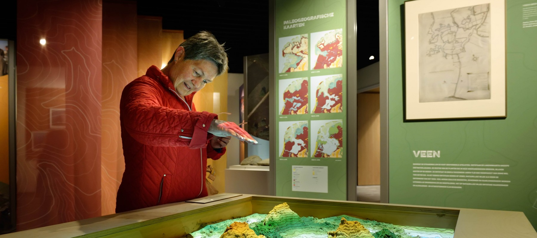 tentoonstelling, Augmented reality sandbox