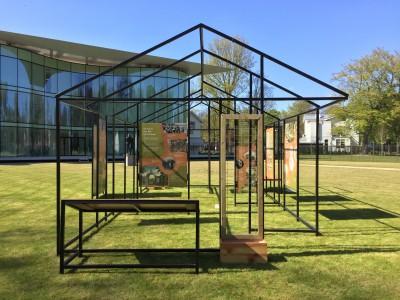 Binnenstebuiten, nu te zien in de binnentuin van Paviljoen Welgelegen!