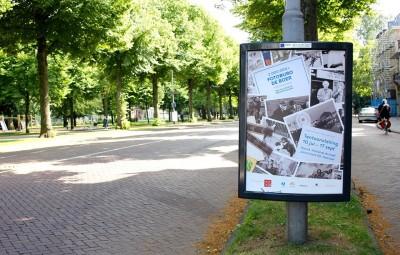 Posters van Fotobureau de Boer duiken overal in Noord-Holland op!