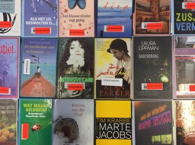 Al die afgeschreven boeken van de Bibliotheek… daar moet je toch iets leuks mee kunnen doen?