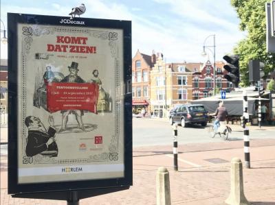 Heb jij de poster van Komt Dat Zien al in de stad gespot?