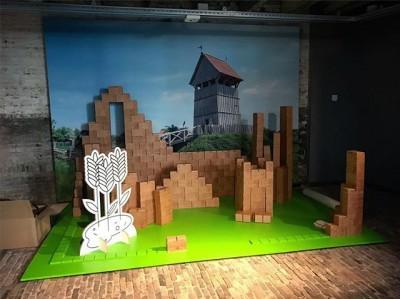 Bouw vanaf dit weekend je eigen burcht in familietentoonstelling #boerenburcht in @museumvlaardingen