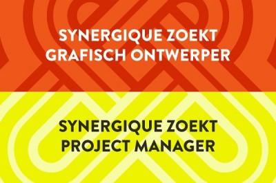 WE'RE HIRING!Synergique breidt uit en daar hebben we jou voor nodig! We zoeken een grafisch ontwerper in Maastricht en een project manager in Haarlem. Meer weten? Link in bio, maar ook hier: synergique.homerun.co #vacature